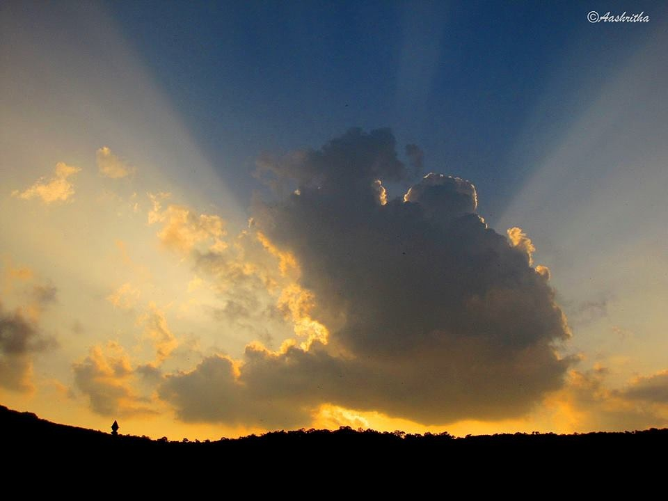 Photo in Nature #rays #clouds