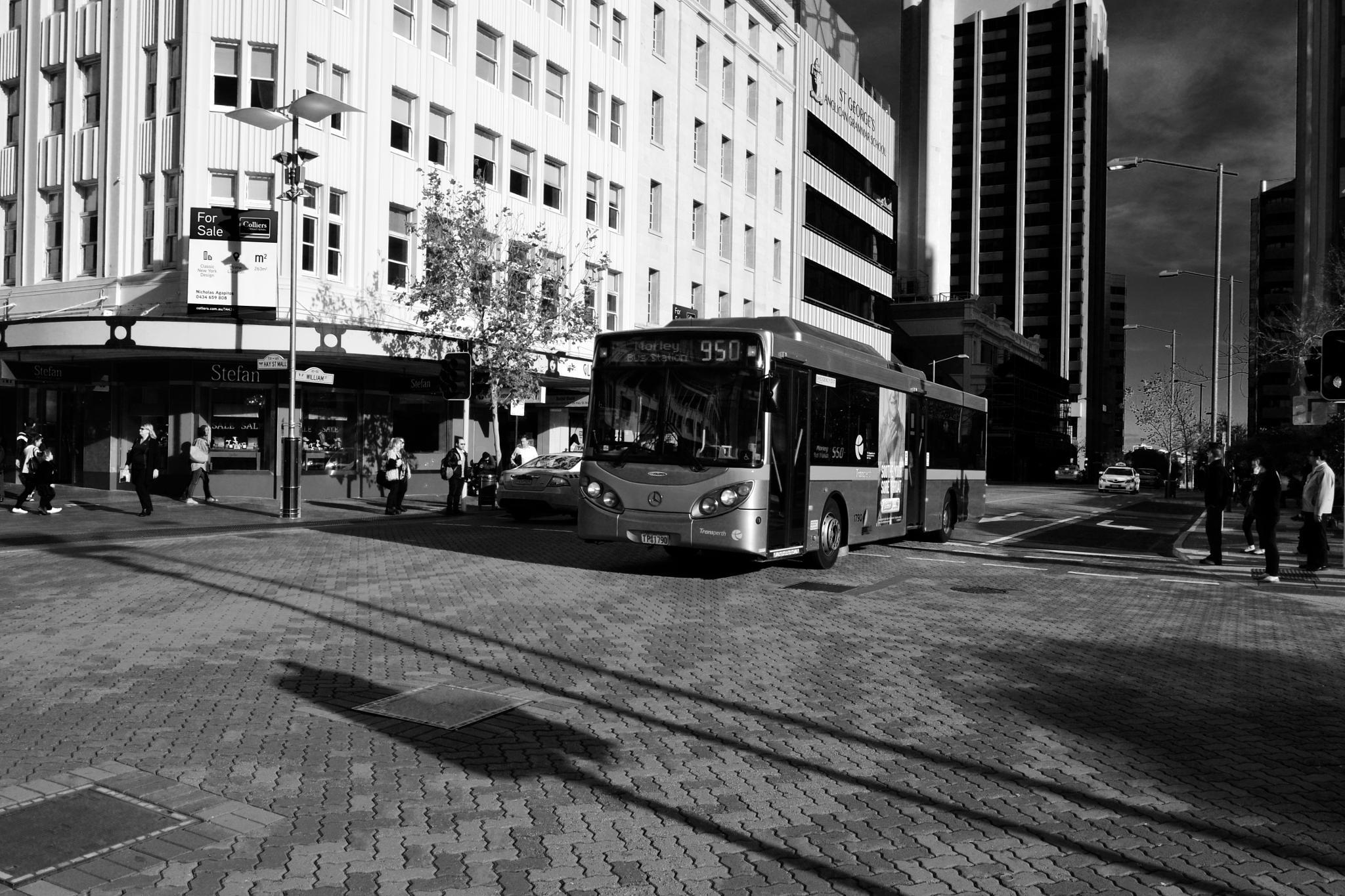 CITY BuS by PRasad Ahirrao