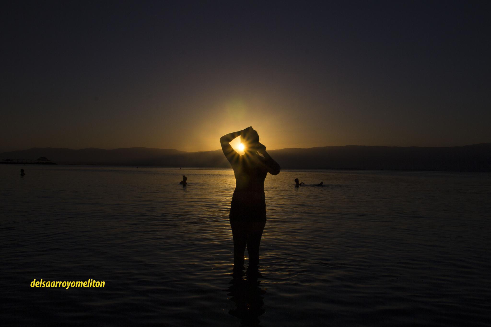 sunrise in DEADSEA... by delsa.arroyomeliton