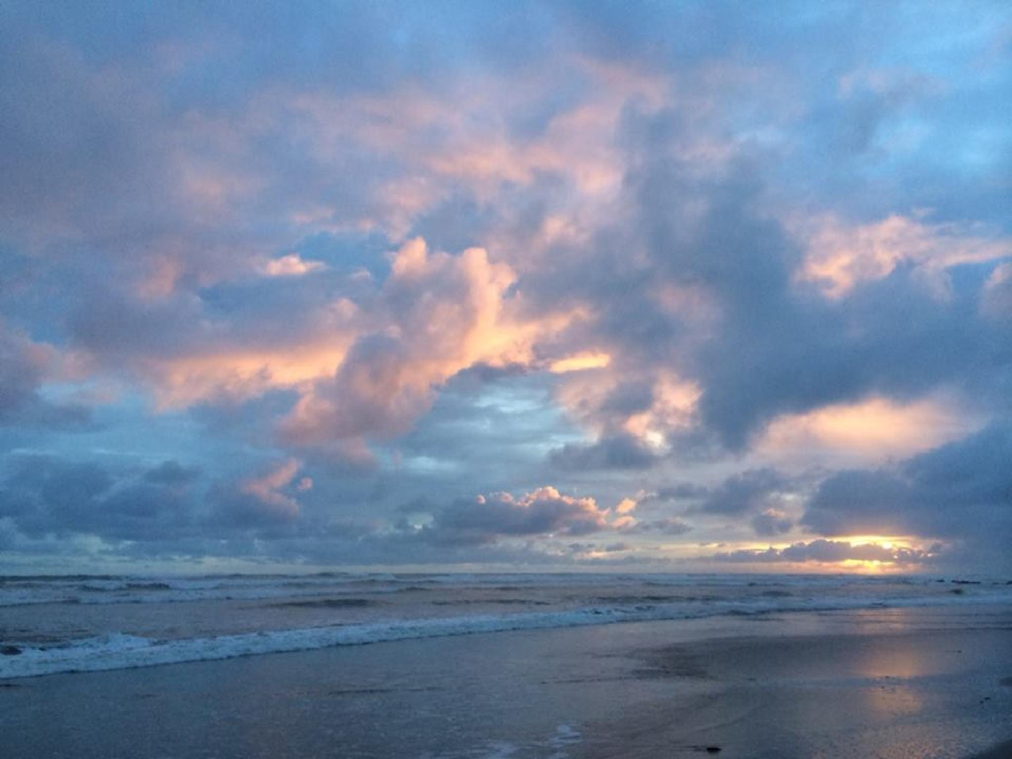 Blue Costa Sunset by sonya.f.kennedy