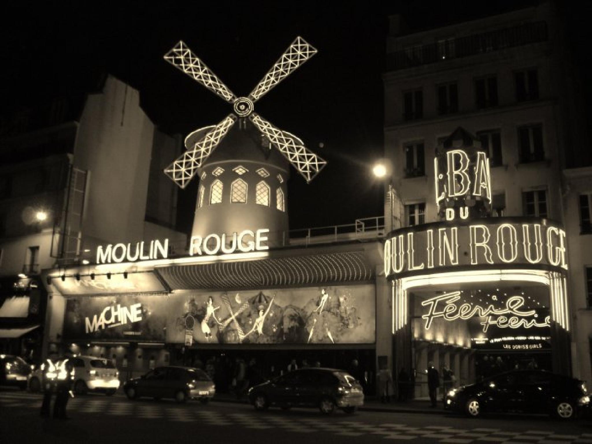 Moulin Rouge, Paris by MZ55