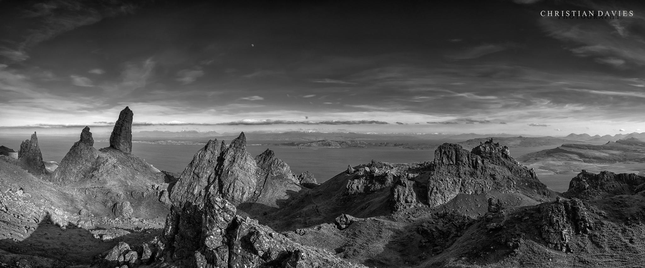 The Old Man Of Storr by Chris Davies
