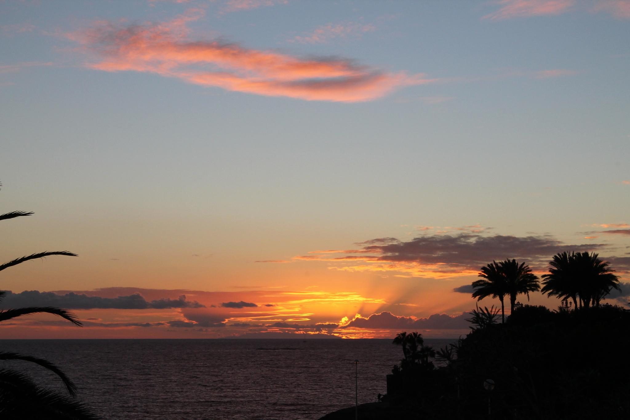 Tenerife Sunset by neal.hardwick