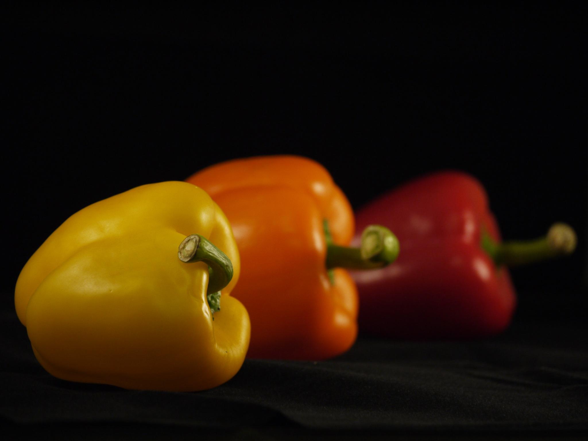 Peppers by Derek Hollis