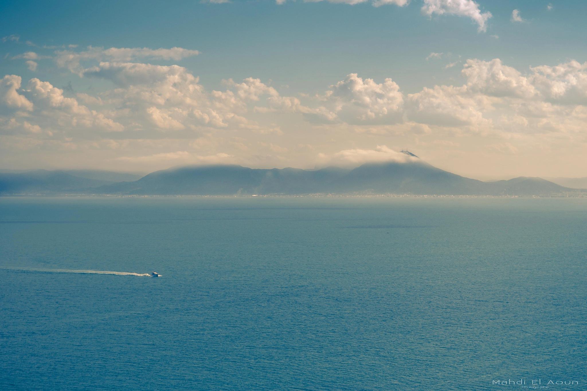 Mountains over the sky by Mahdi El Aoun