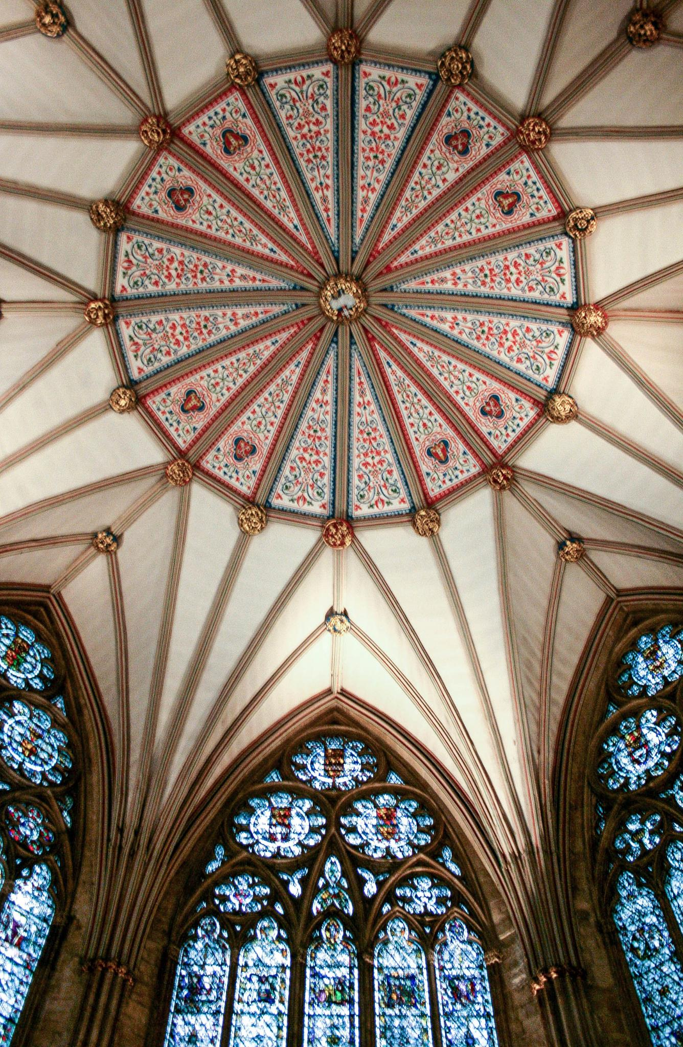 Photo in Architecture #york #york minster #chapter house #yorkshire #church