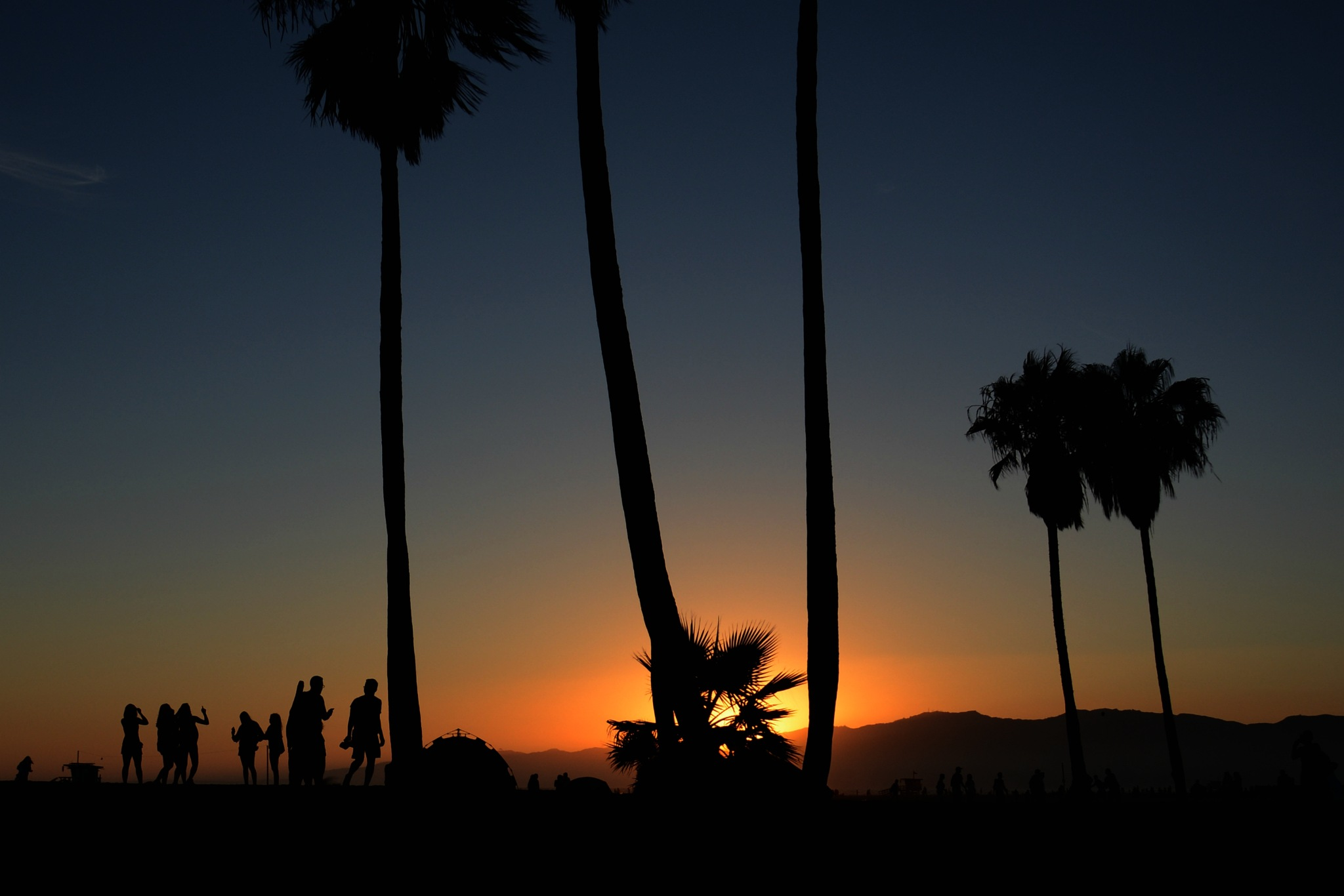 Hot In Sunset Day  by Solomon Aseoche