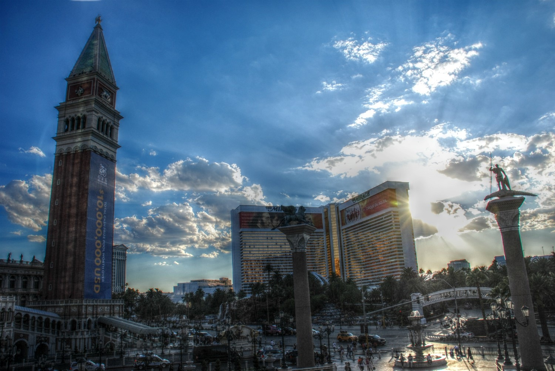 Vegas Strip by Solomon Aseoche