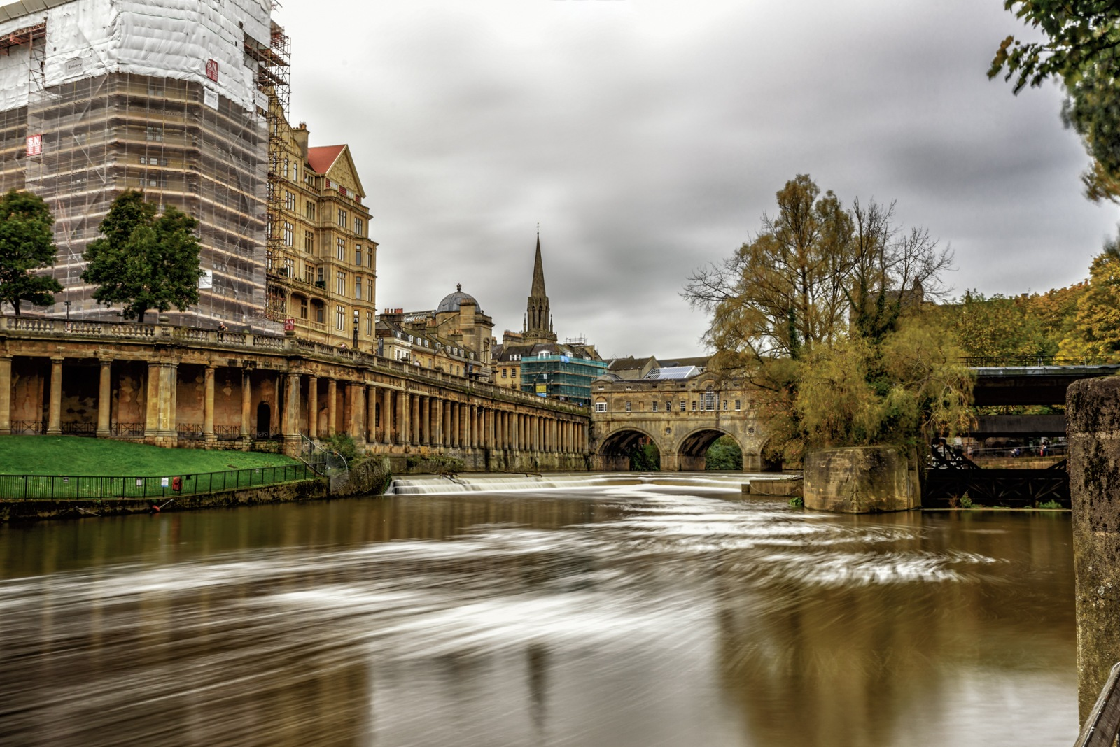 River side view by Paul Dyer