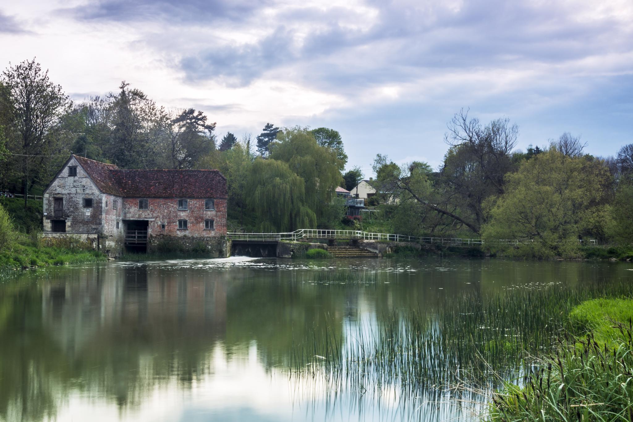 Photo in Landscape #landscape #mill #water