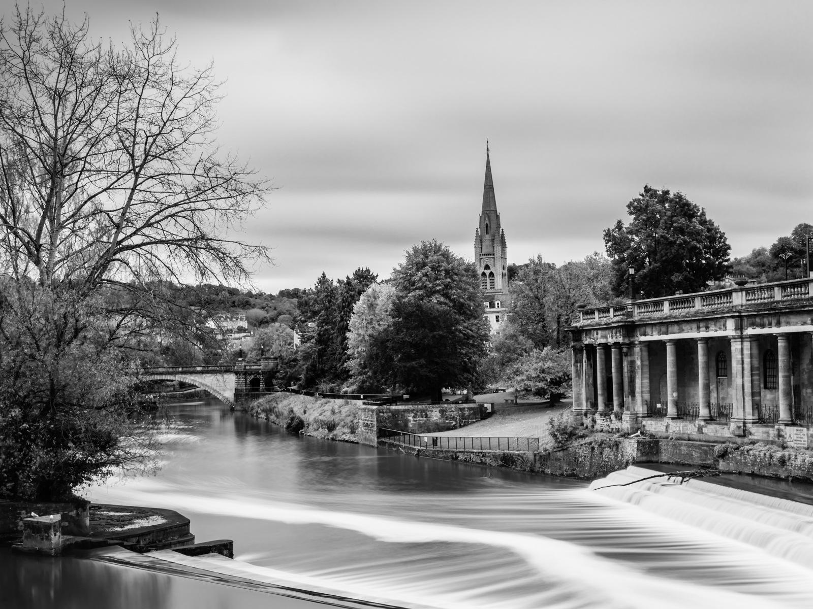 Bath Side Walk View by Paul Dyer