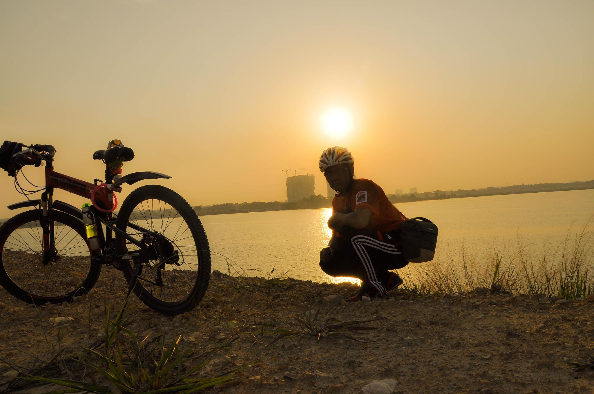 My Camera and Bicycle by Nor Ikhsan Ismail