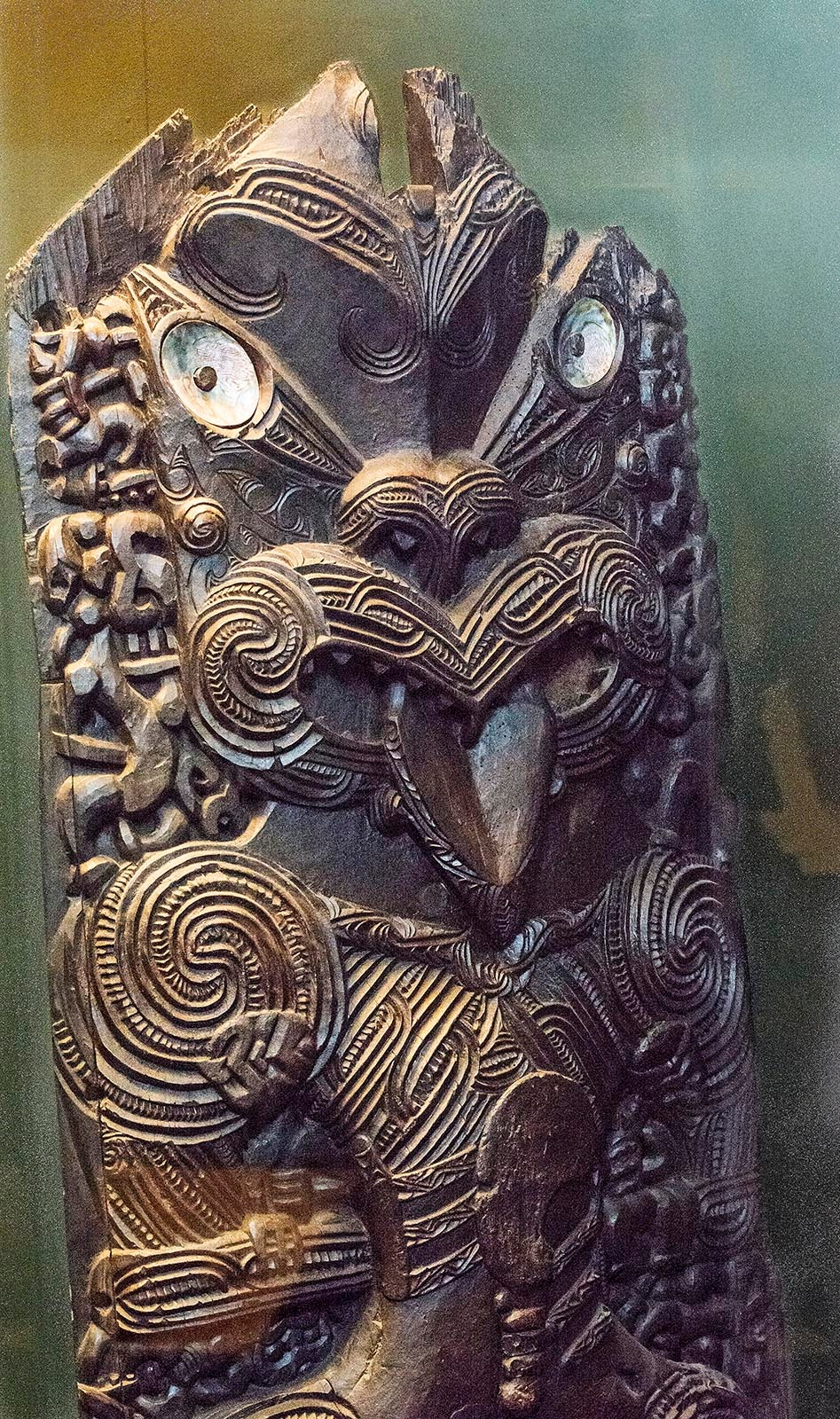 Day at the Museum - Maori Carvings by TerraEncounters