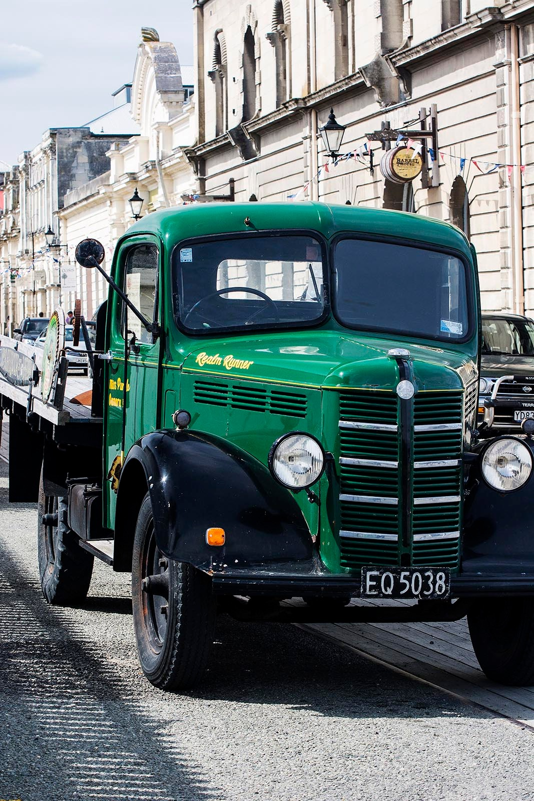 Antique Truck in Antique Town by TerraEncounters
