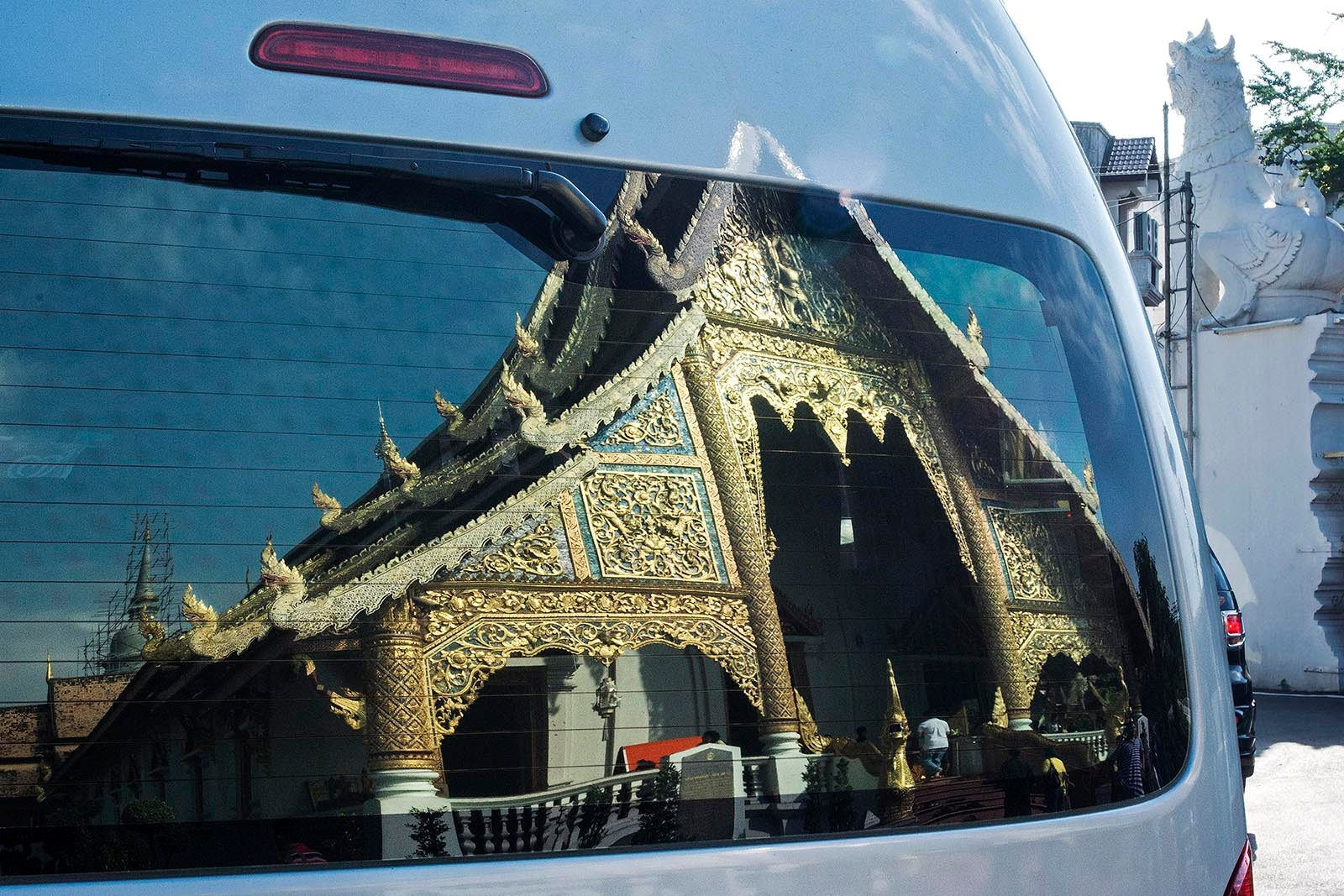 Thai Temple Reflections by TerraEncounters