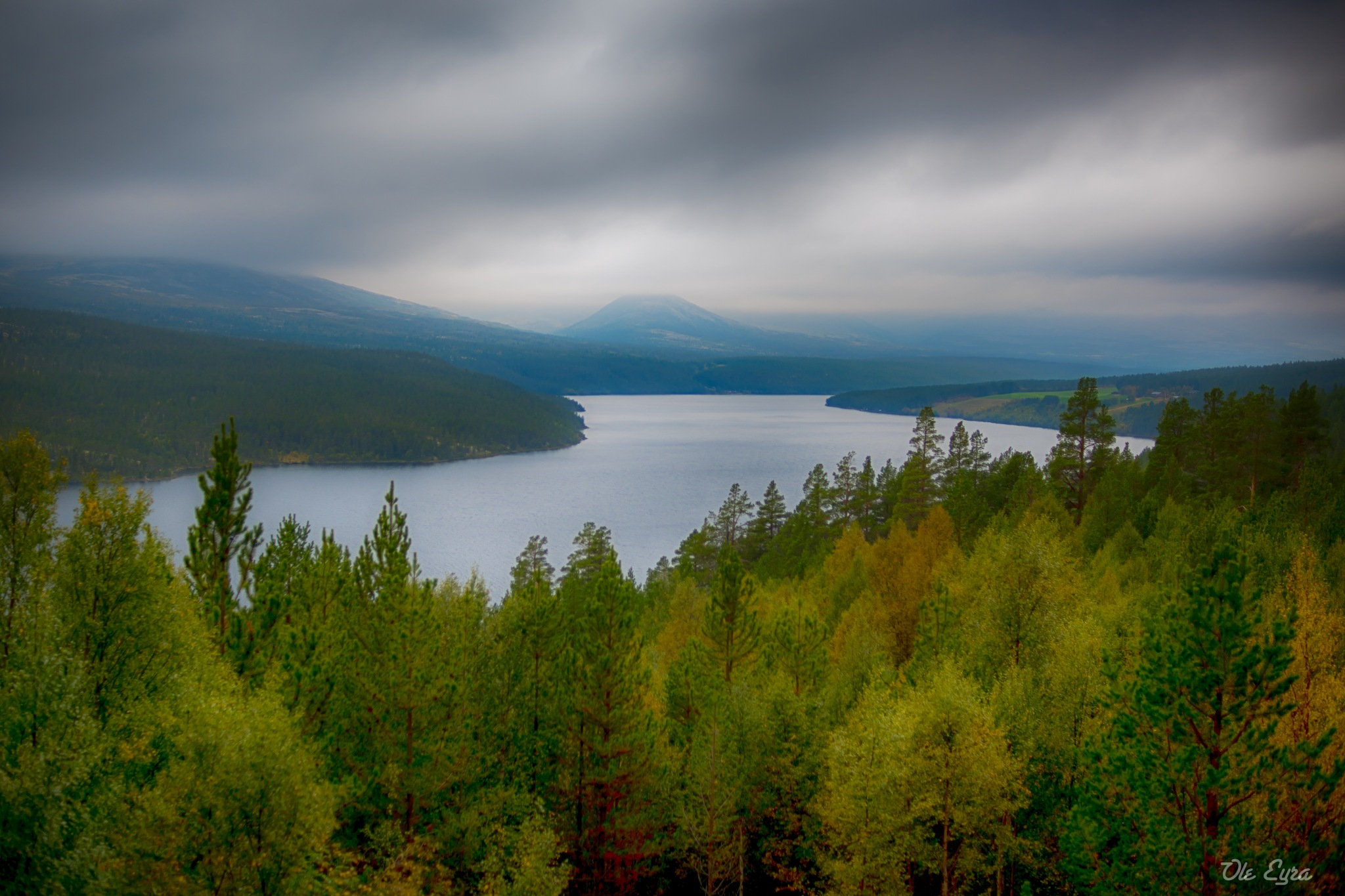Viewing point by Ole Morten Eyra