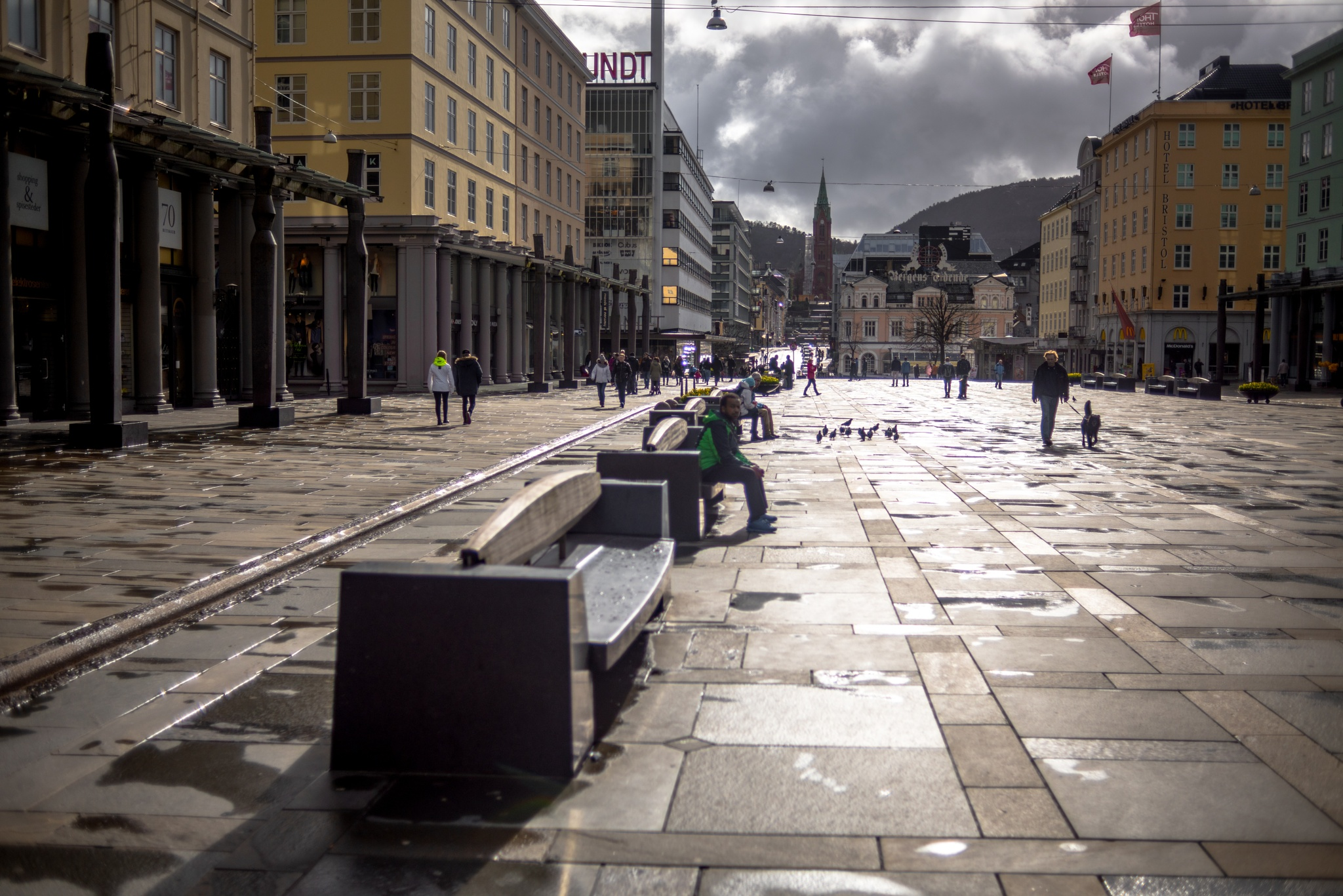 Main Square by Ole Morten Eyra