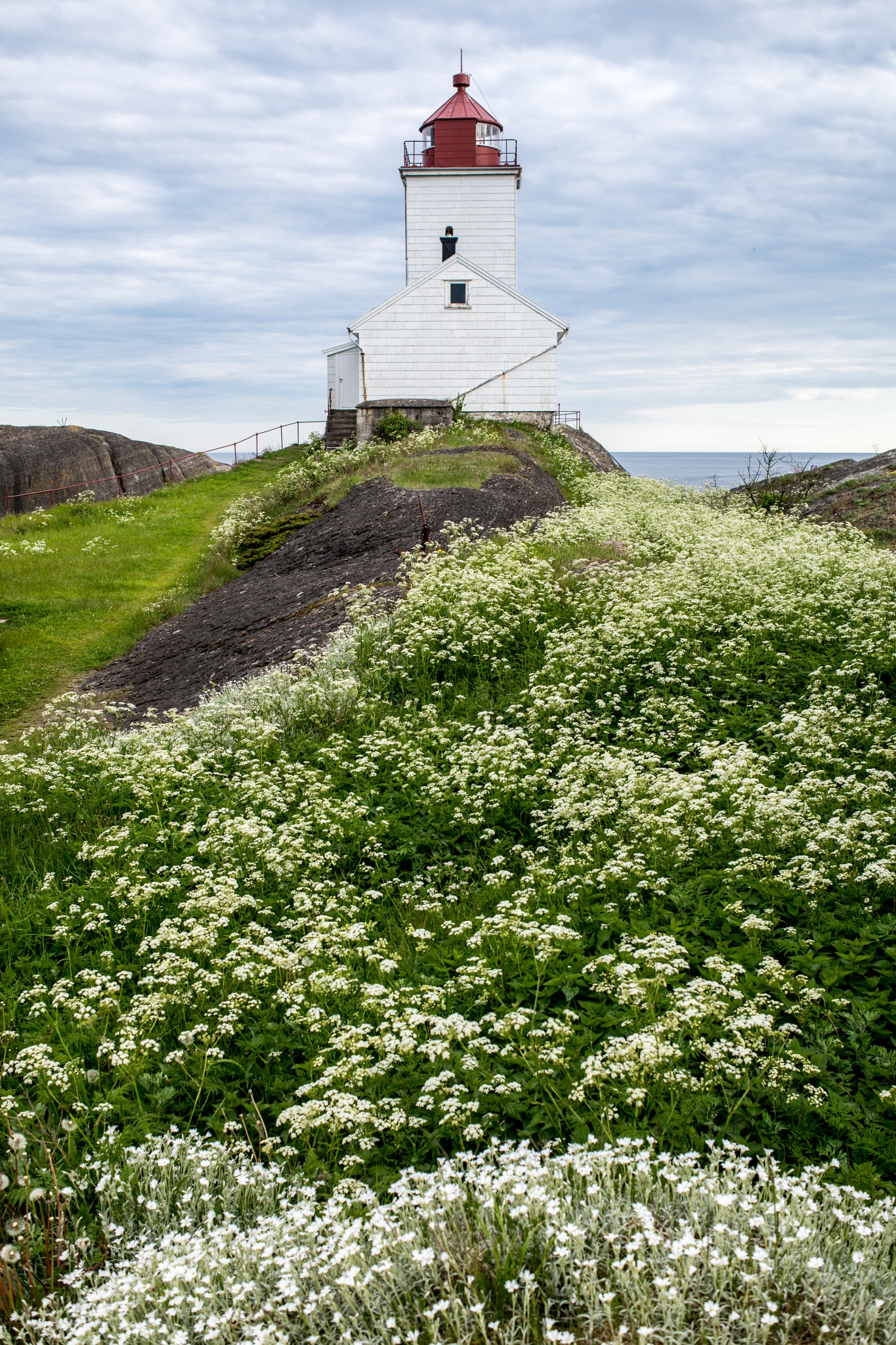 The Lighthouse and summer by Ole Morten Eyra