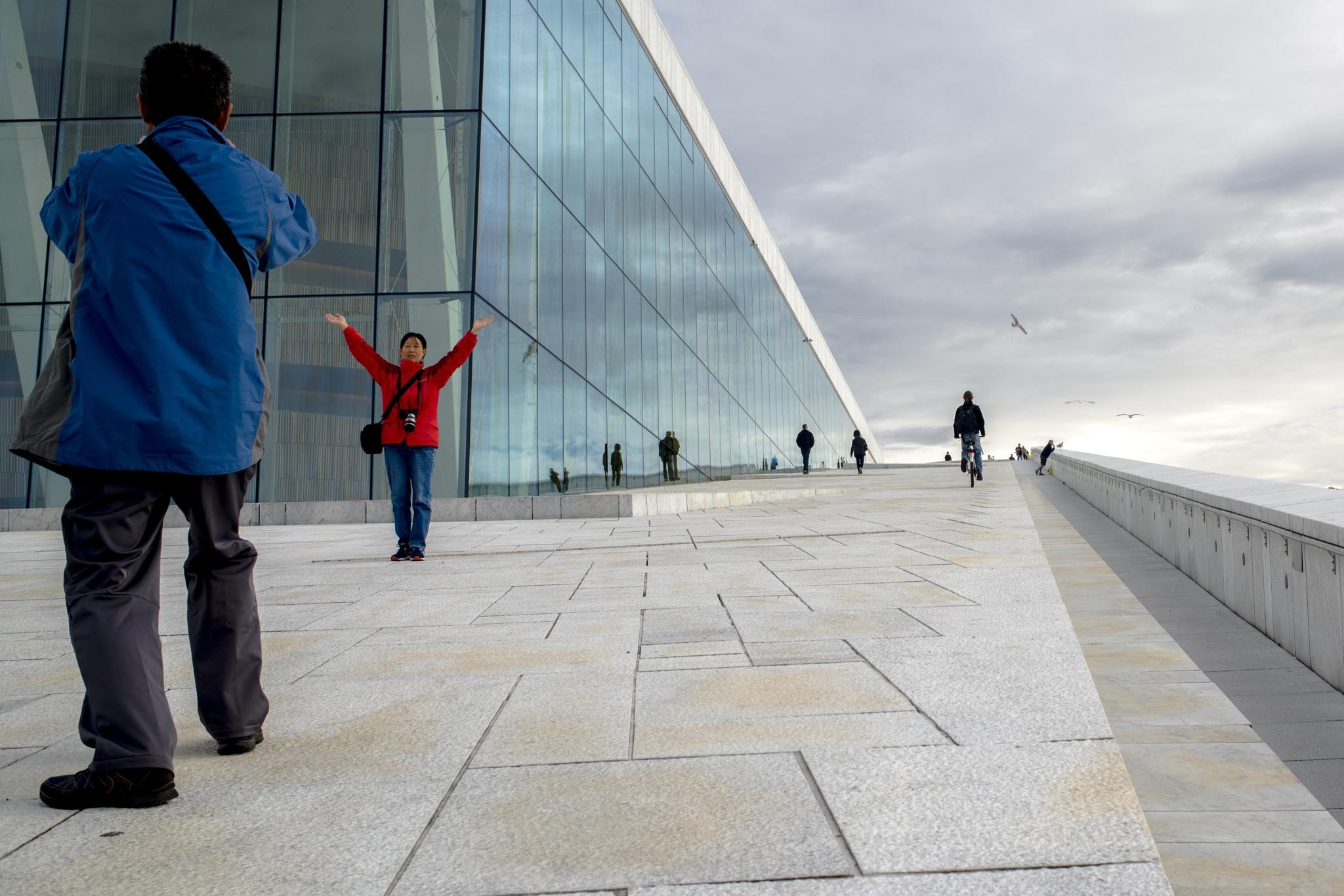 Oslo Opera House by Ole Morten Eyra