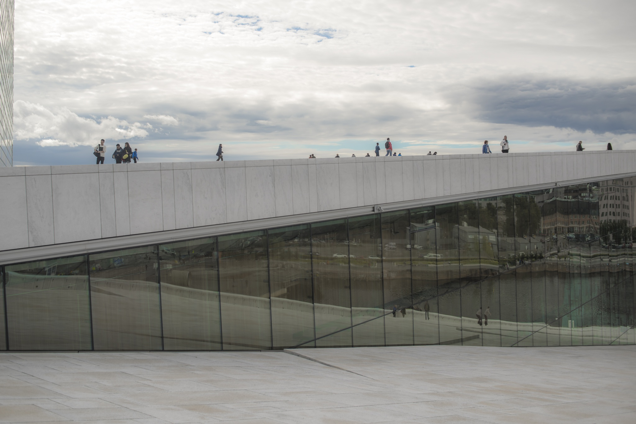Oslo Opera House II by Ole Morten Eyra