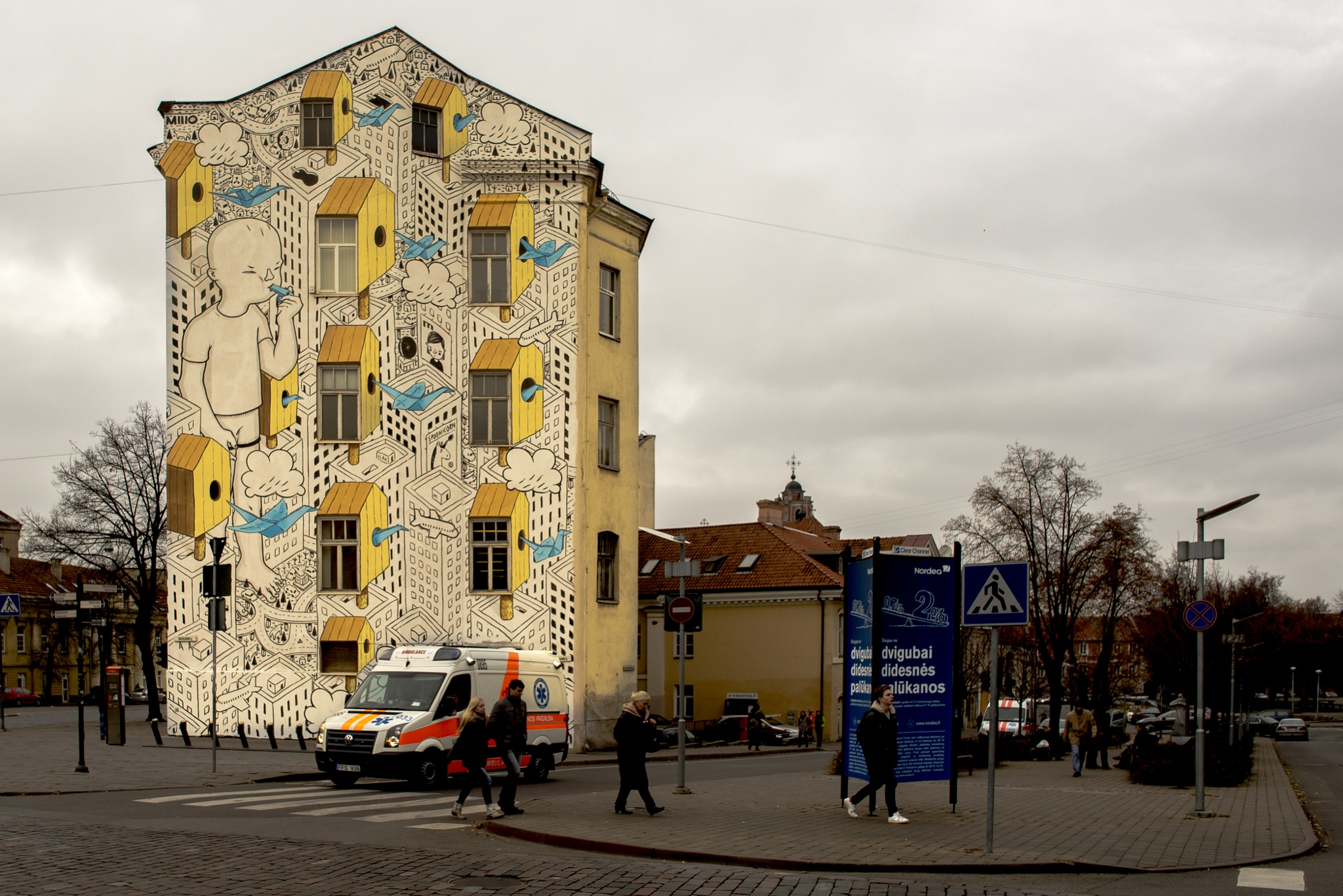 City Art by Ole Morten Eyra