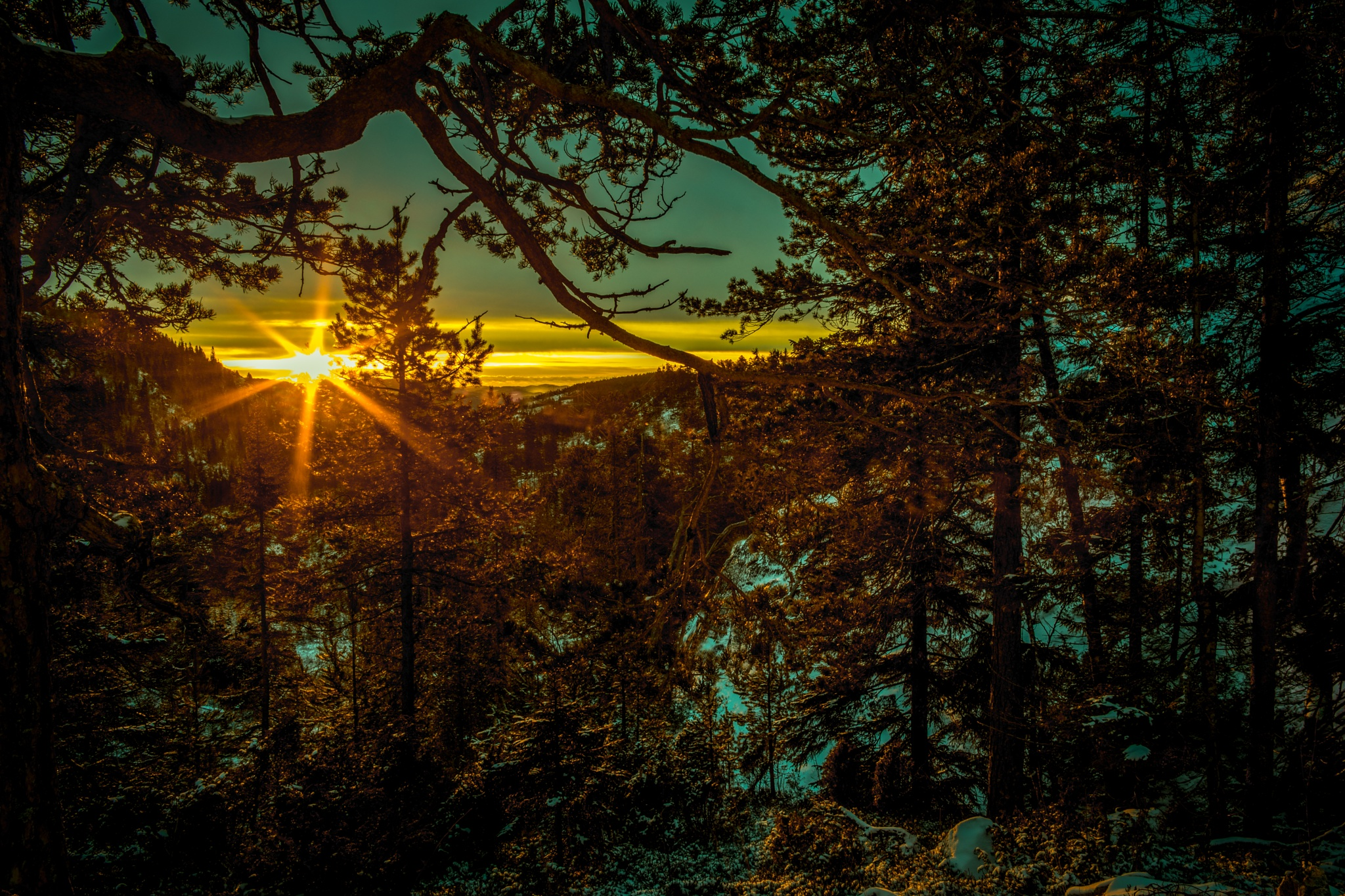 Blue turns to Golden by Ole Morten Eyra