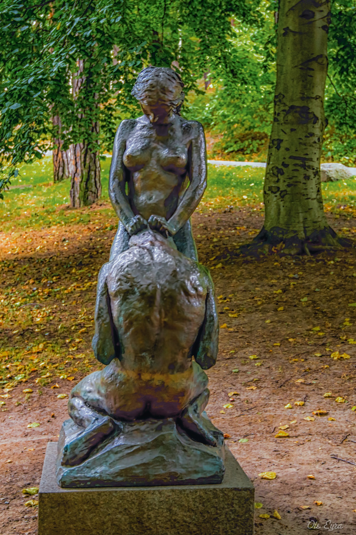 Man and Woman by Ole Morten Eyra