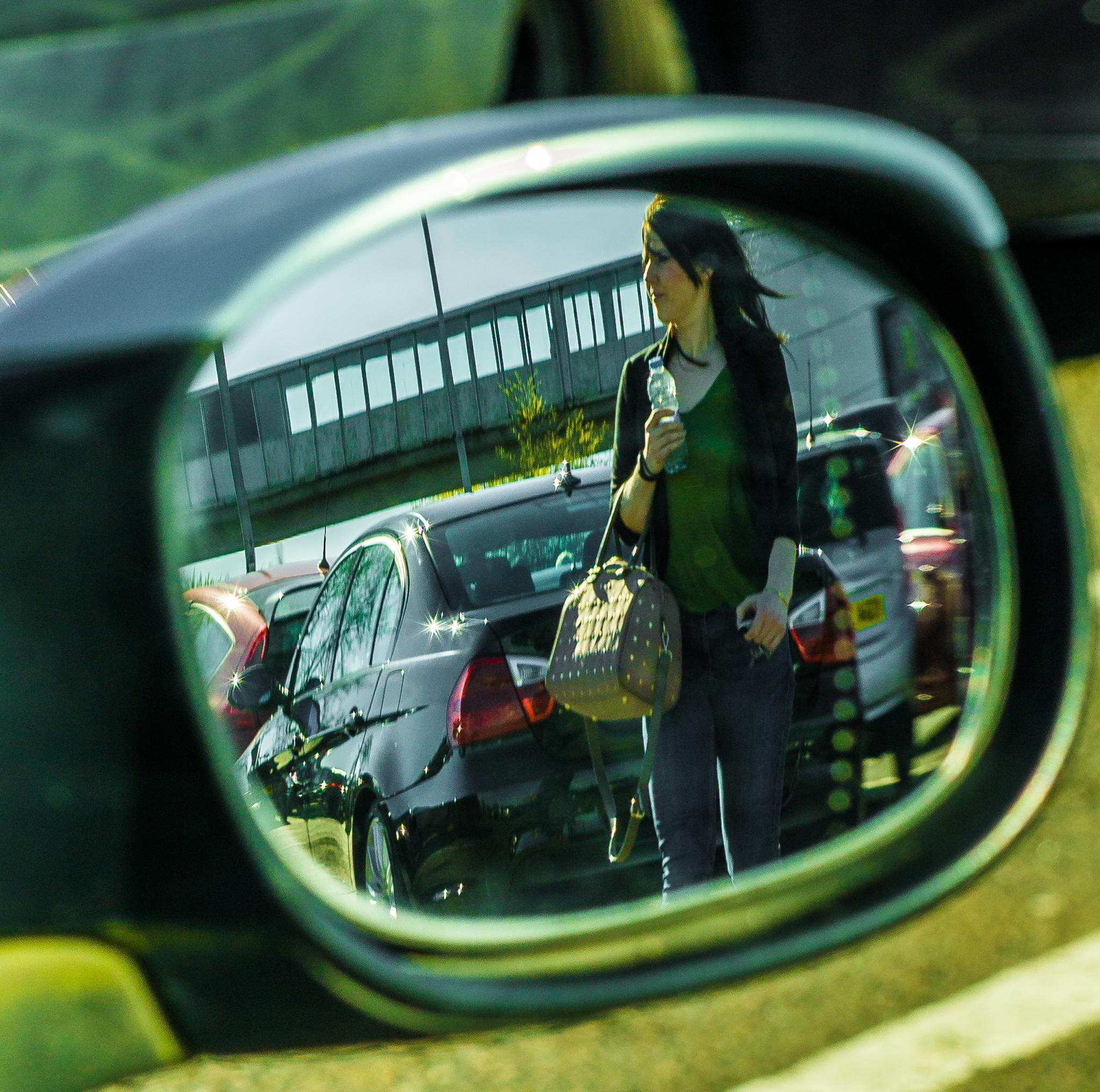 Looking for her car. by NatureGirl