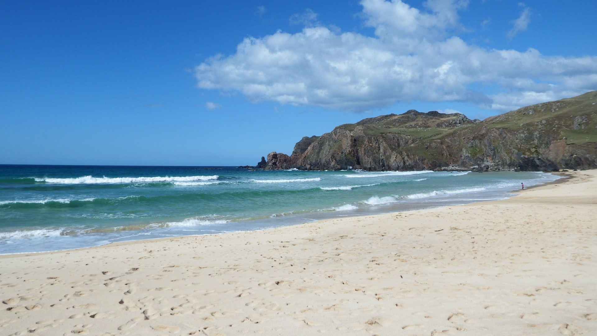 dalmore beach isle of lewis by kenneth campbell