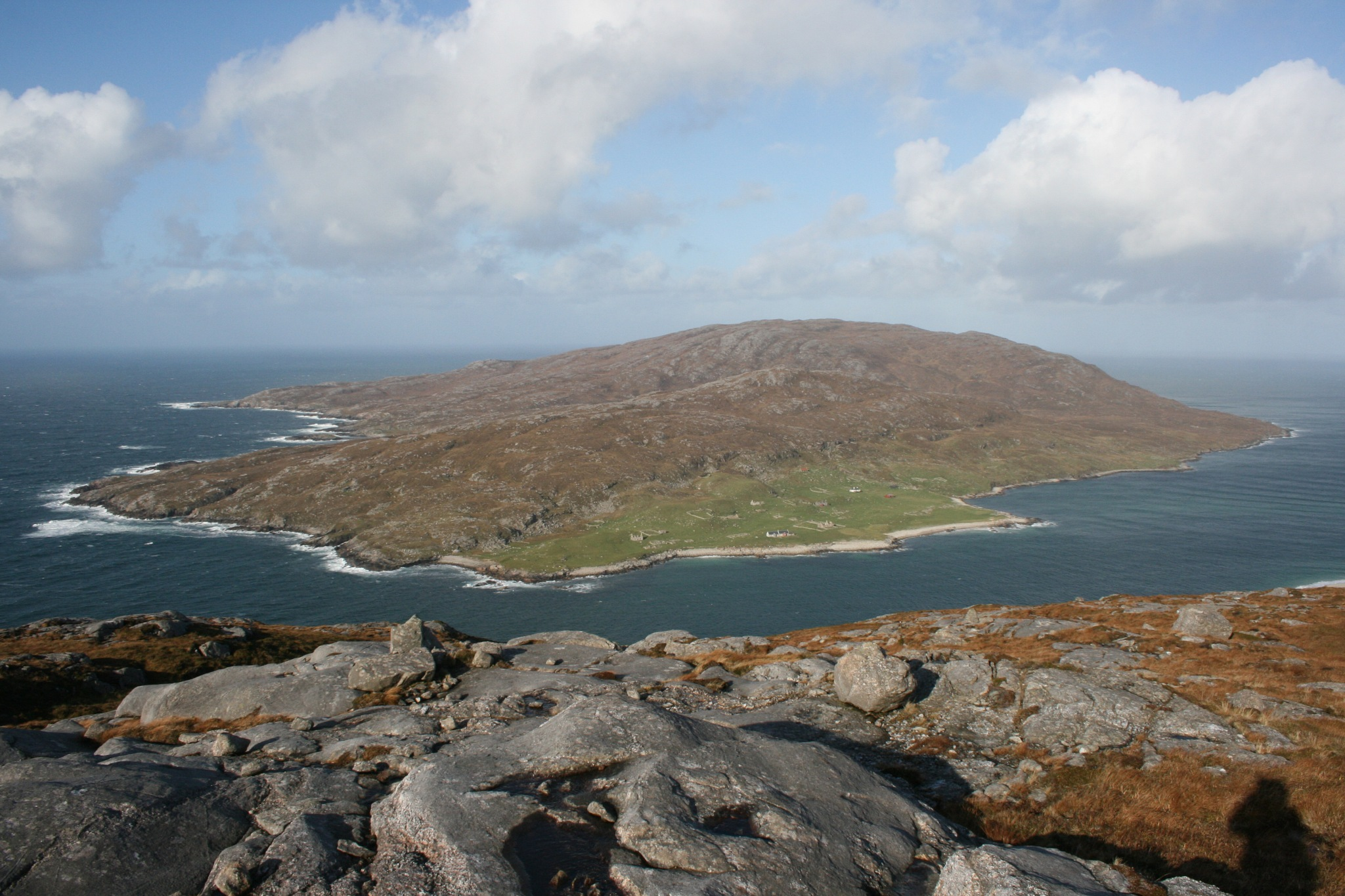 the island of scarp isle of harris by kenneth campbell