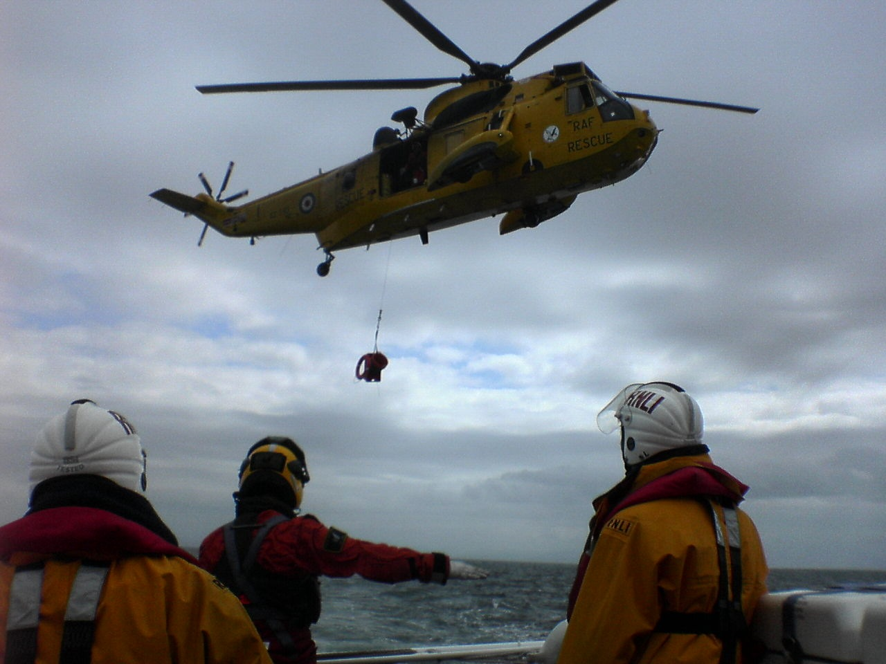 WORKING WITH RESCUE 137 by kenneth campbell