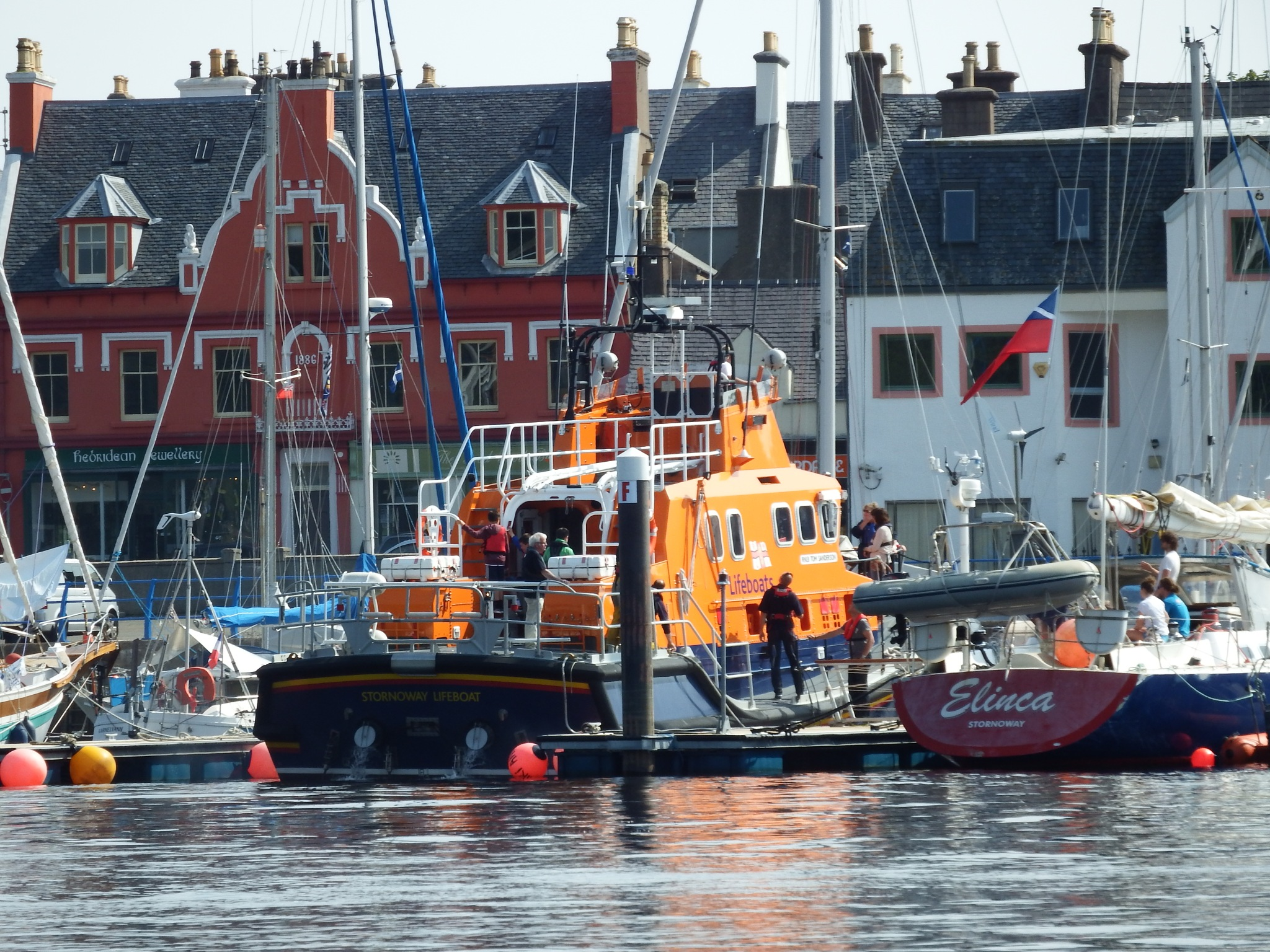 stornoway lifeboat by kenneth campbell