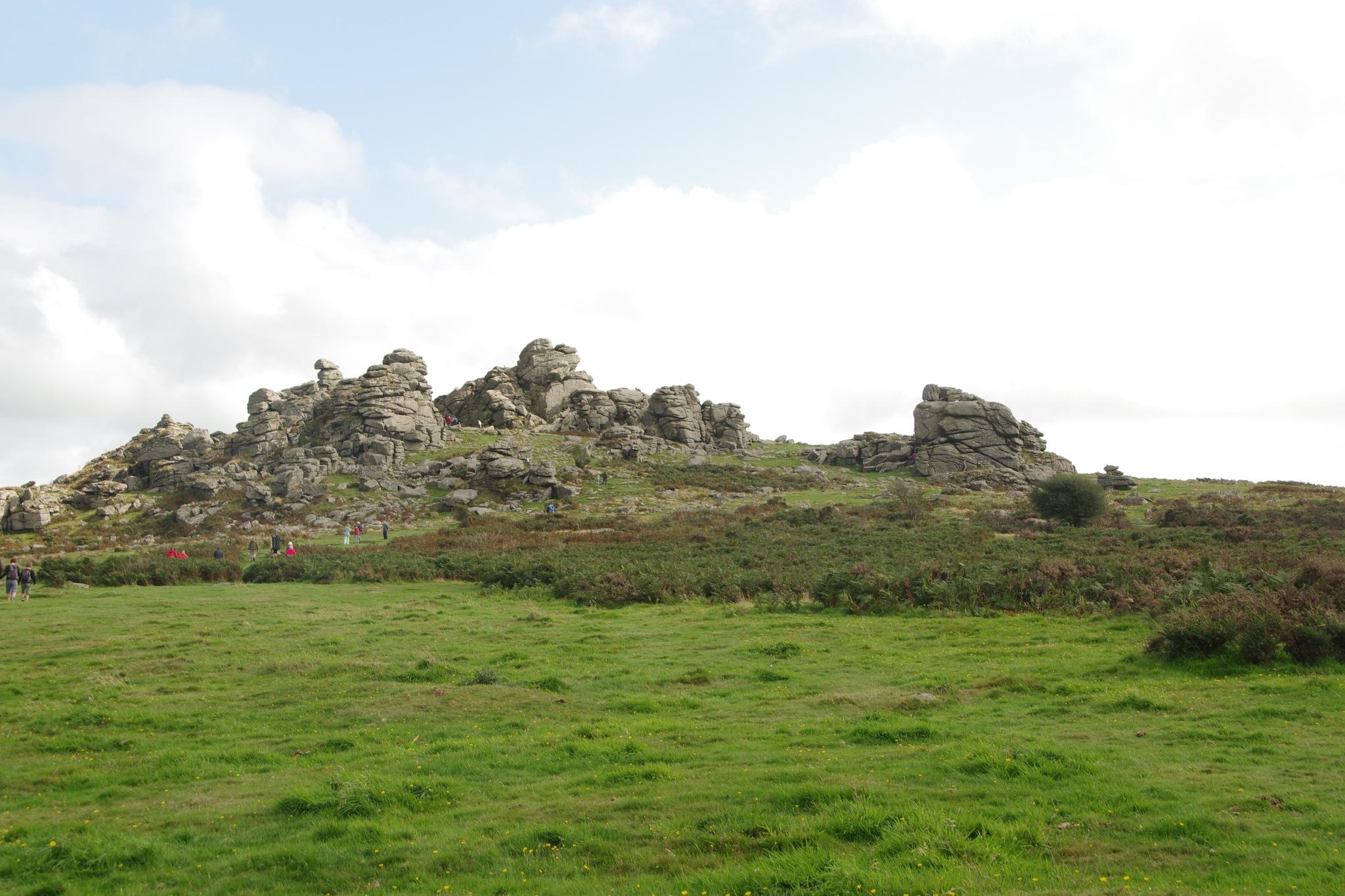 Hound Tor Dartmoor by padmic101