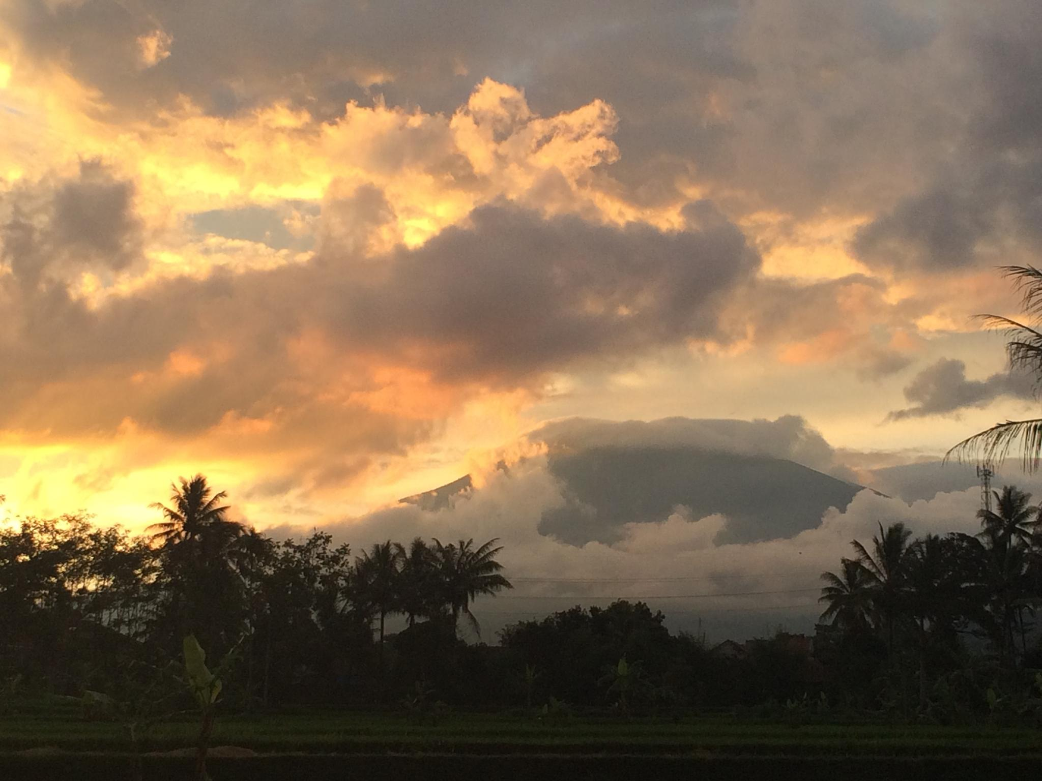 Photo in Landscape #sunset #home #jawa