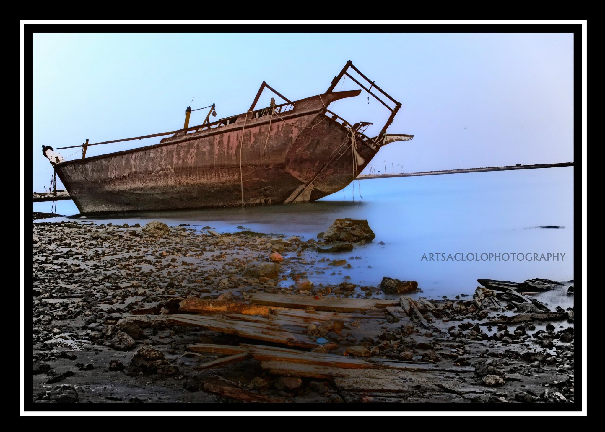 ABANDONED SHIP by arthurlsaclolo