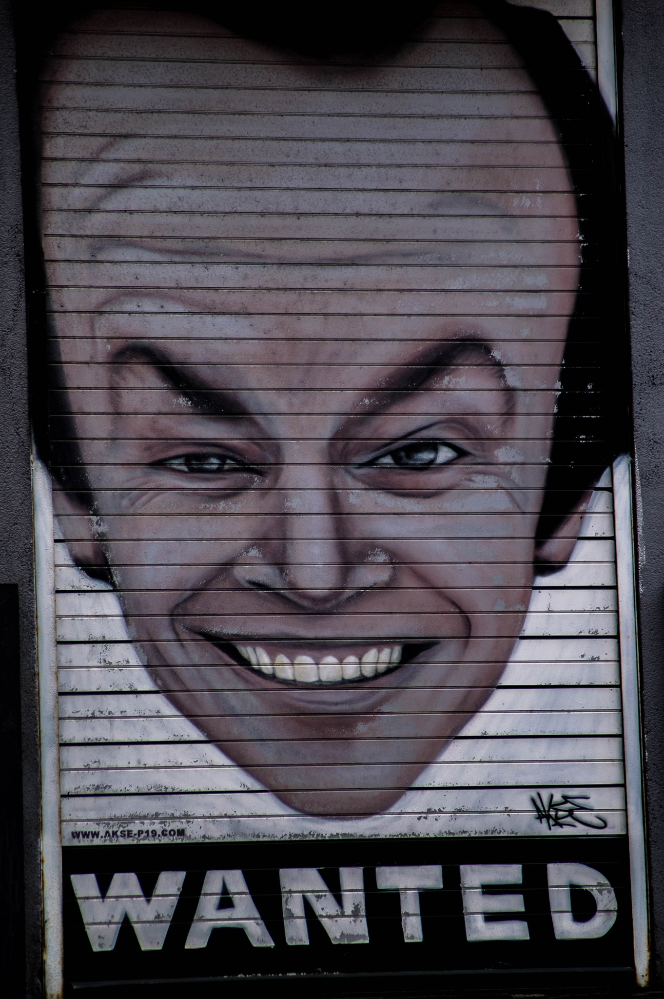 graffiti  by michal clarke
