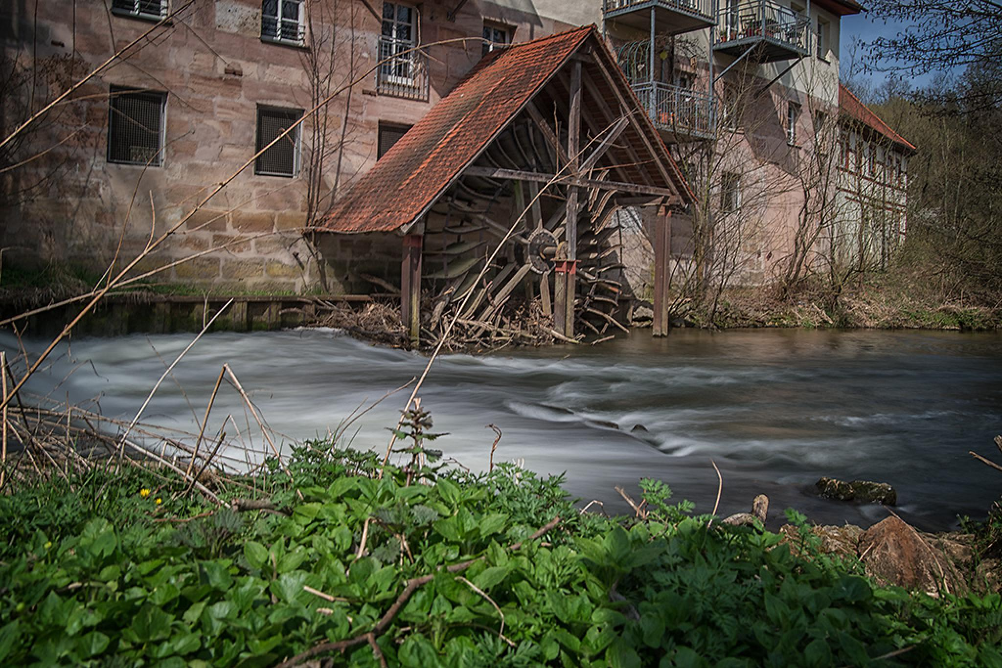 Watermill by Leo Walter