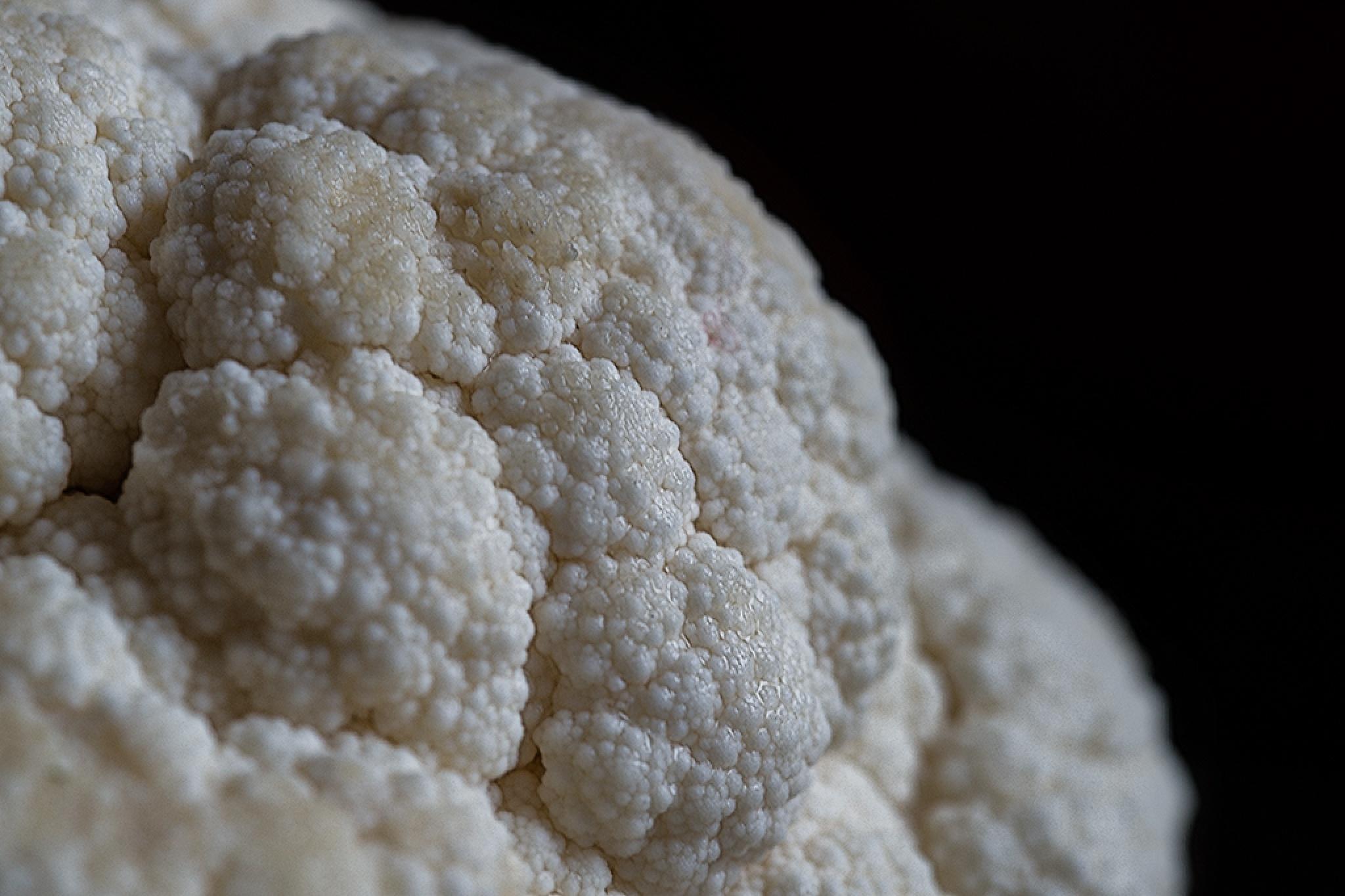 Photo in Food #vegetable #macro #cauliflower #food