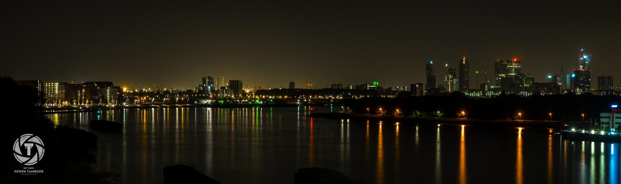 Rotterdam Skyline by Edwin Tamboer fotografie