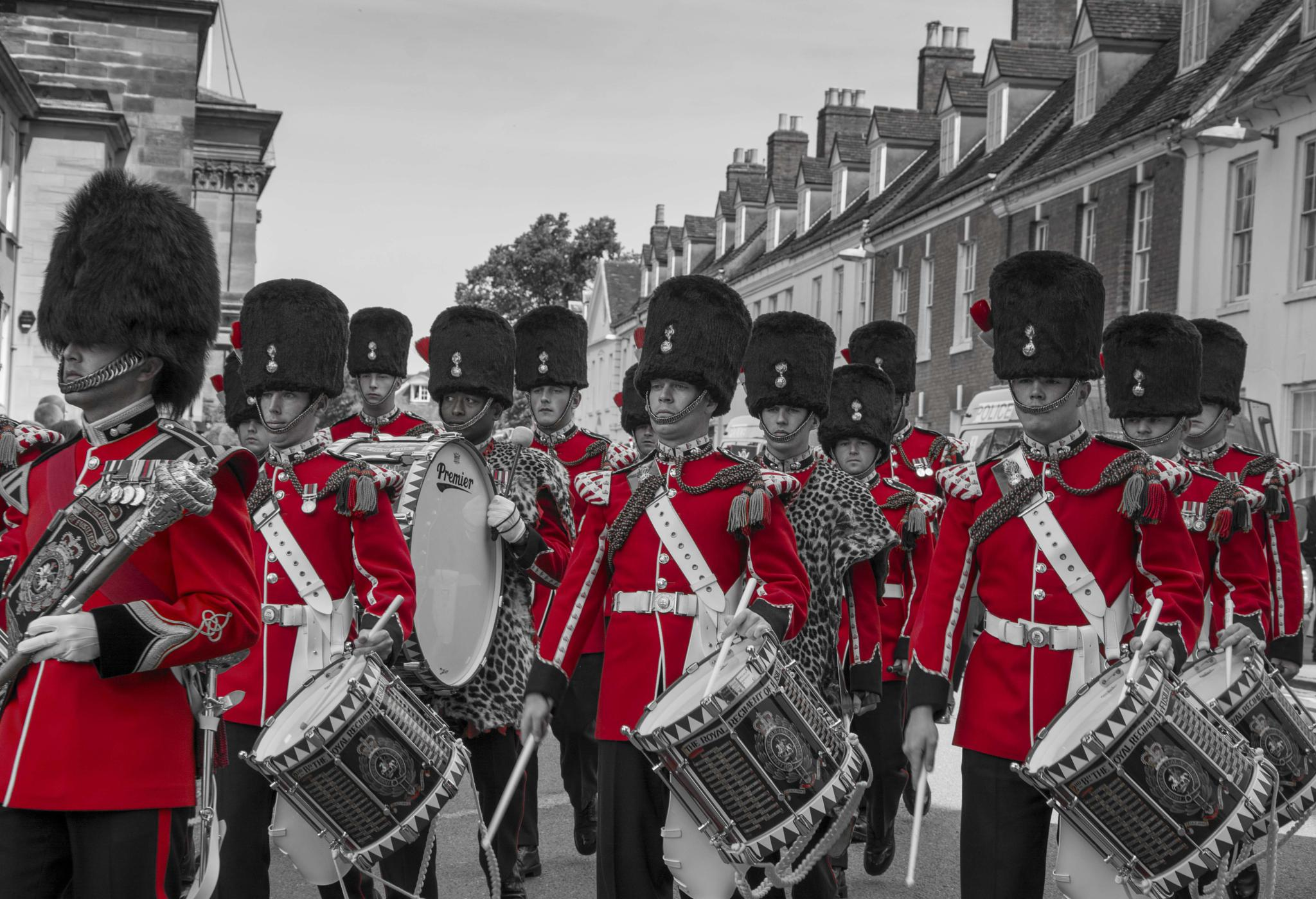Guards on Parade by paul.spencer.39395