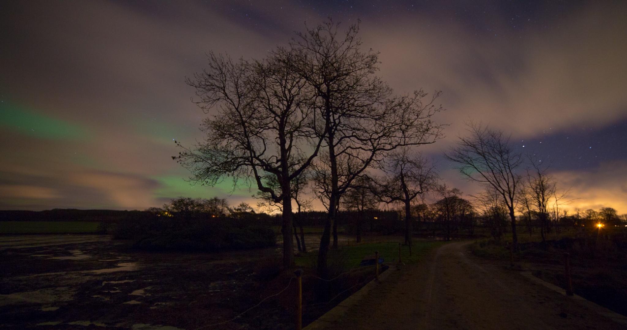 night rainbow 2 by fiona