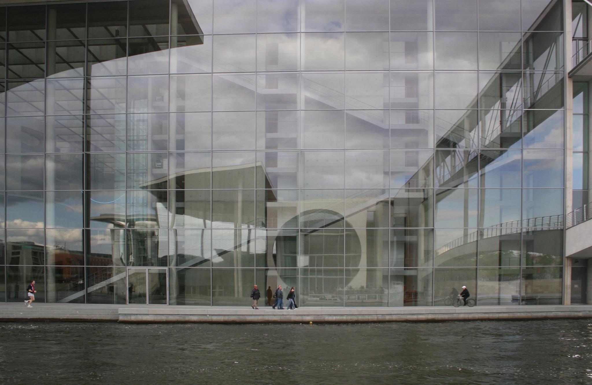 Berlin Reflection by dkg