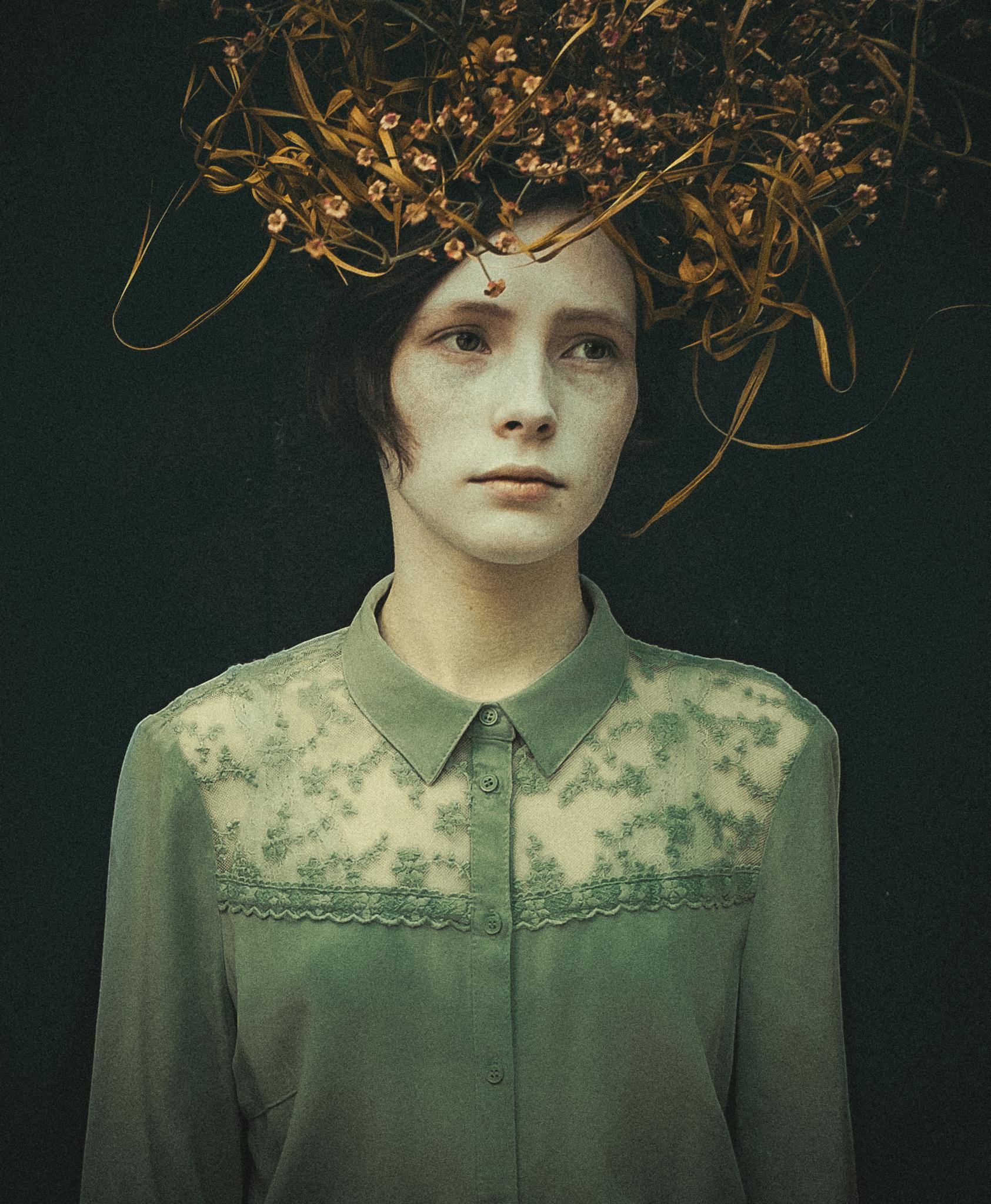 girl in blouse by Nastya Balaban