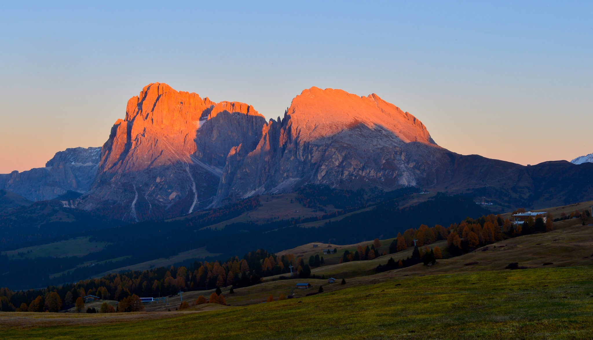 burning peaks by maurizio senoner
