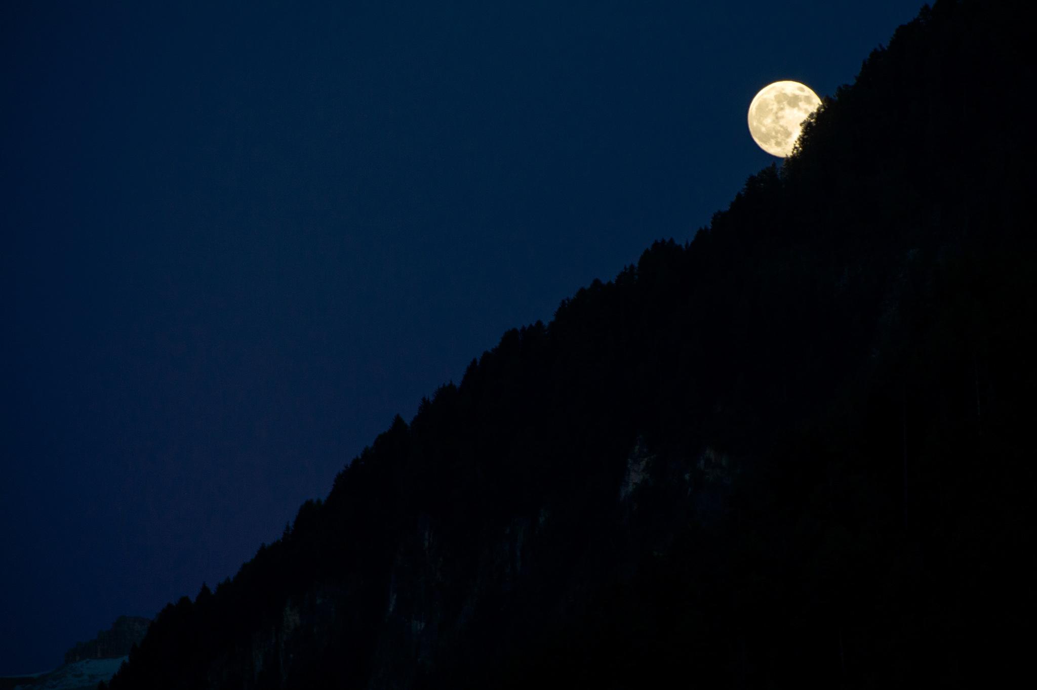 full moon by maurizio senoner