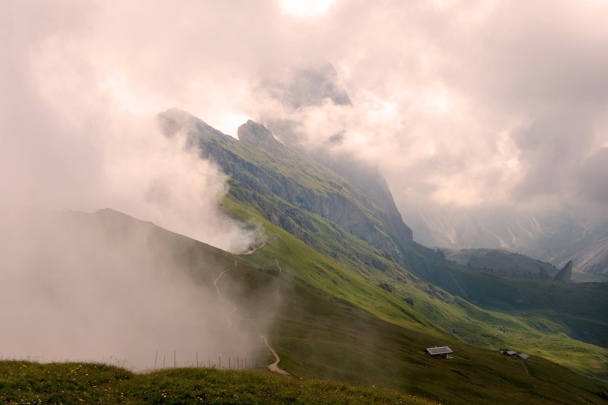 cloudy morning by maurizio senoner