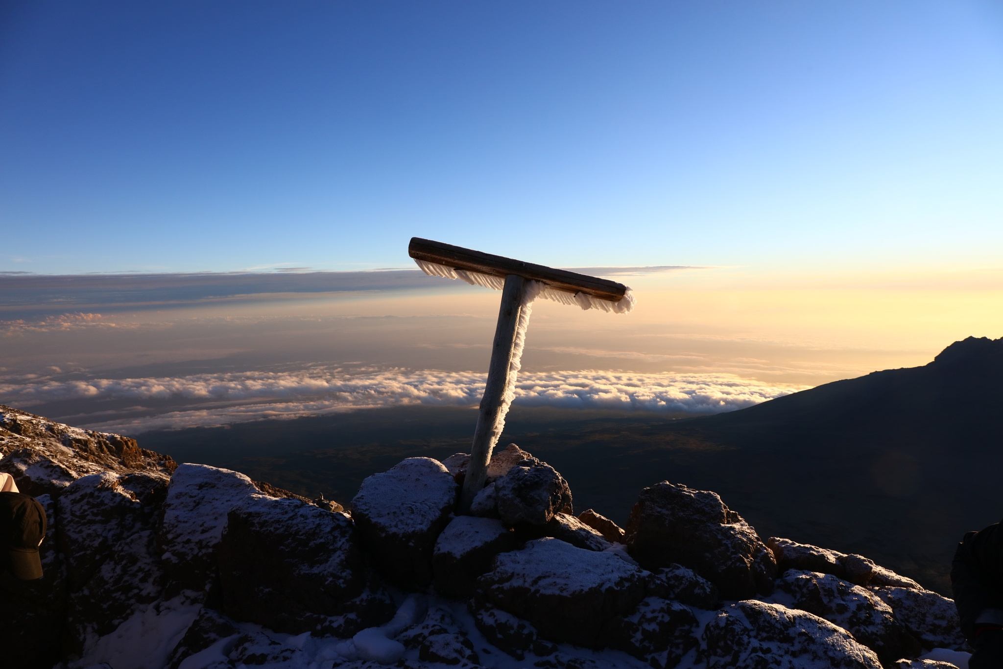 Kilimanjaro, Gilmann´s point by pstroyer