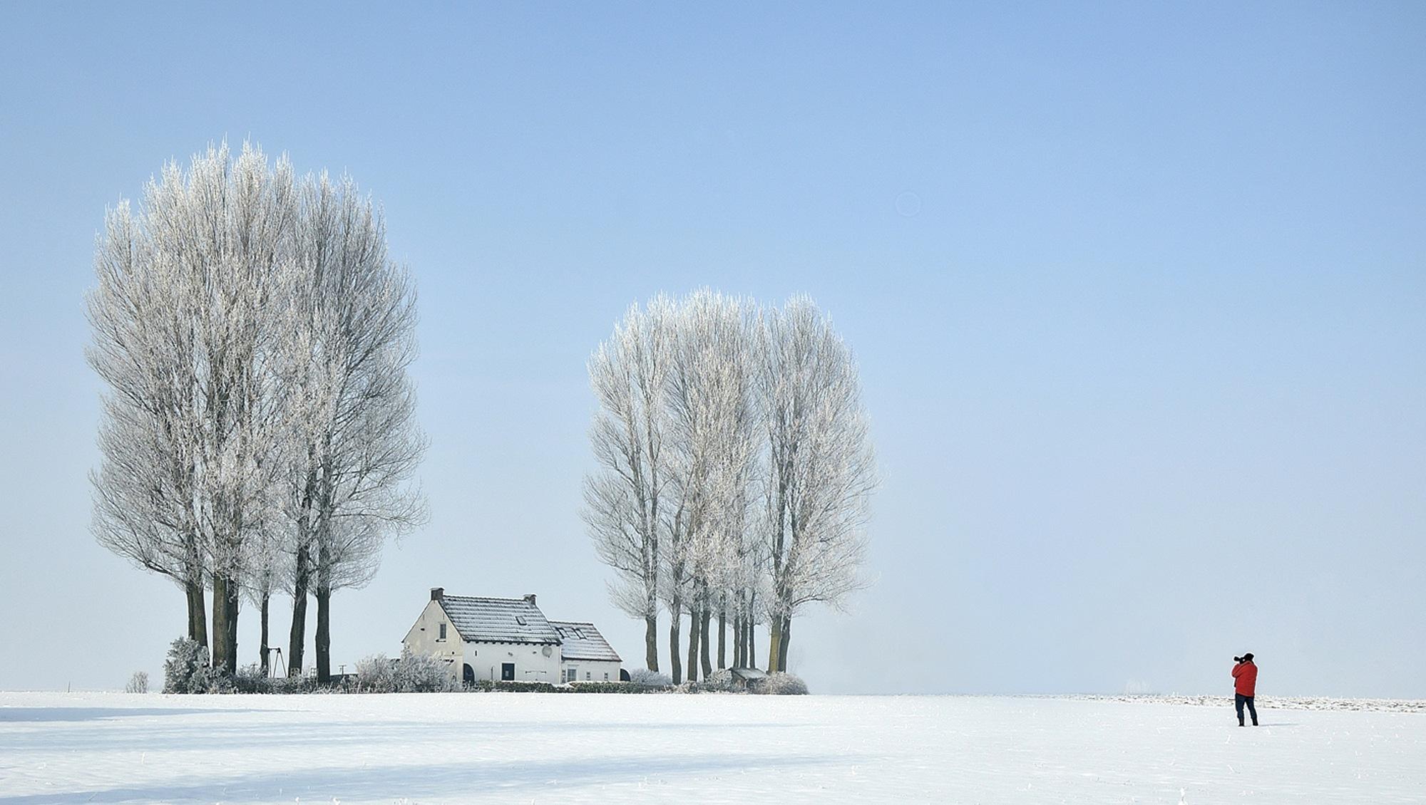 Winter in Zeeland by Rudi.Fonteijne