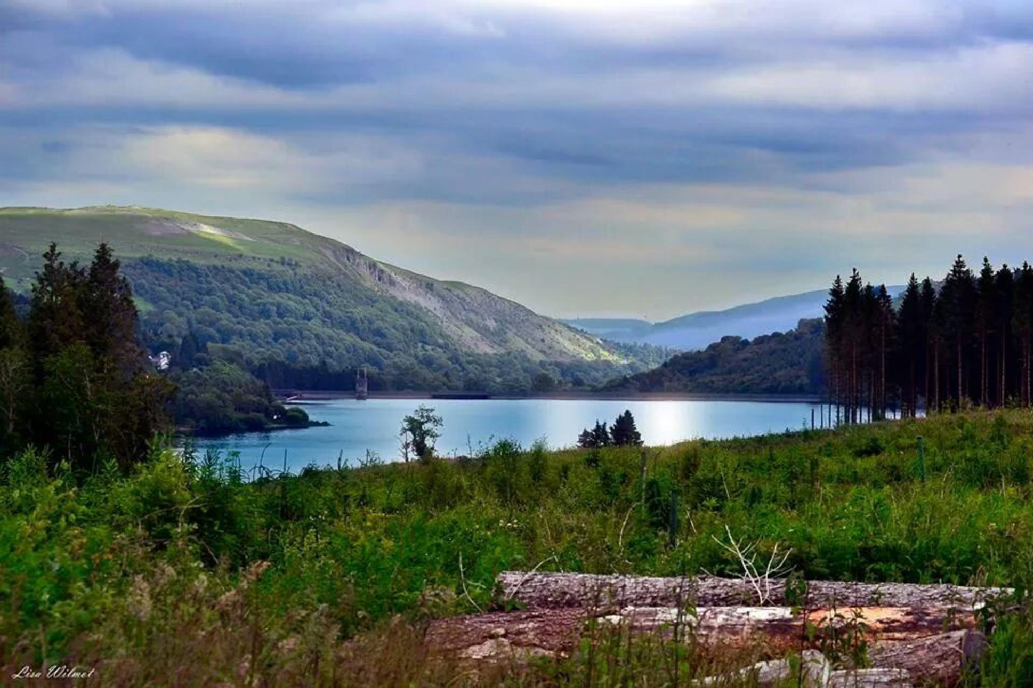 Llwyn-on Reservoir. .UK by Lisa Wilmot
