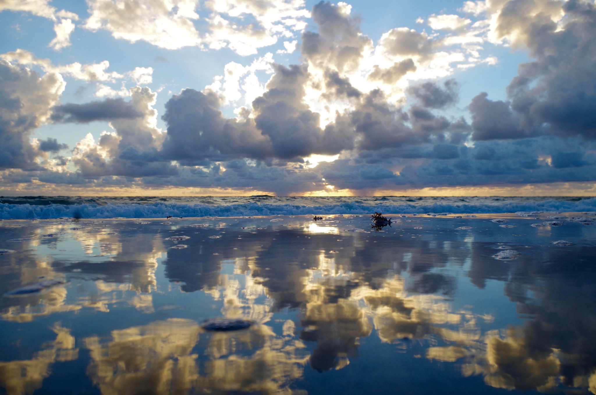Cloud reflections by tracey.kurilla